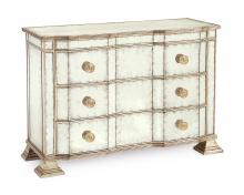 J. Richard EUR-01-0099 - 37X52X22 EGLOMISE SHAPED CHEST OF DRAWER