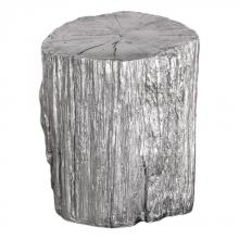 Uttermost 24663 - Uttermost Cambium Silver Tree Stump Stool