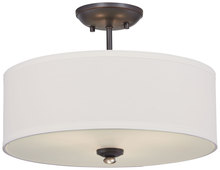 Minka-Lavery 3286-589 - 3 Light Semi Flush Mount