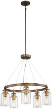 Minka-Lavery 4555-588 - 5 Light Chandelier