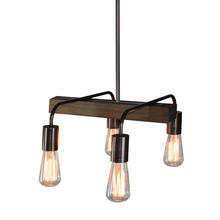Artcraft AC10454BU - Lynwood 4 Light  Bronze Island Light