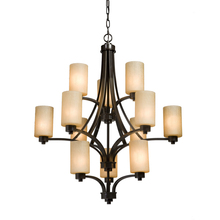Artcraft AC1312OB - Parkdale 12 Light  Oil Rubbed Bronze Chandelier