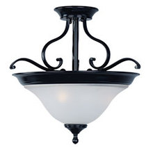 Maxim 11801ICBK - Linda-Semi-Flush Mount