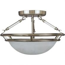 Maxim 2670MRPE - Stratus 3-Light Semi-Flush Mount