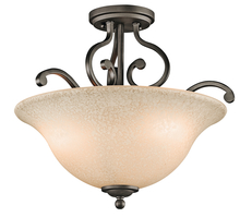 Kichler 43232OZ - Semi Flush 3Lt
