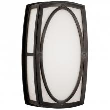 Visual Comfort TOB 2074BZ-WG - Winston Narrow Sconce in Bronze with White Glass