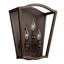 Feiss WB1757PAGB - 3 - Light Sconce