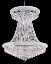 Elegant 1802G36SC/RC - 1802 Primo Collection Large Hanging Fixture D36in H45in Lt:28 Chrome Finish (Royal Cut Crystal)