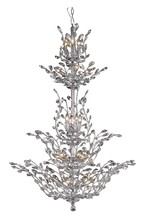 Elegant 2011G54C/SA - 2011 Orchid Collection Chandelier D:41in H:54in Lt:25 Chrome Finish (Spectra� Swarovski� Crystals)