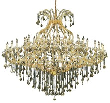 Elegant 2800G72G/EC - 2800 Maria Theresa Collection Chandelier D:72in H:60in Lt:49 Gold Finish (Elegant Cut Crystals)