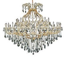 Elegant 2801G72G/RC - 2801 Maria Theresa Collection Chandelier D:72in H:60in Lt:49 Gold Finish (Royal Cut Crystals)