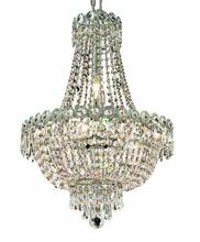 Elegant V1900D16C/RC - 1900 Century Collection Pendant D:16in H:22in Lt:8 Chrome Finish (Royal Cut Crystals)