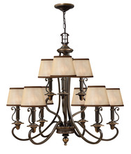 Hinkley 4248OB - Chandelier Plymouth