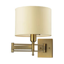 ELK Lighting 10260/1 - Pembroke 1 Light Swingarm Sconce In Brushed Anti