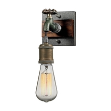 ELK Lighting 14280/1 - Jonas 1 Light Wall Sconce In Weathered Multitone
