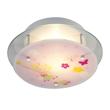 ELK Lighting 21008/2 - Novelty 2 Light Semi Flush In White