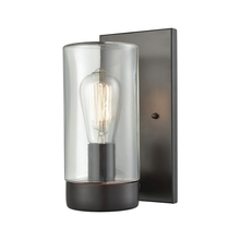 ELK Lighting 45025/1 - Ambler 1 Light Outdoor Wall Sconce In Oil Rubbed