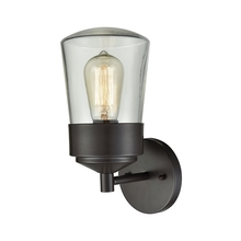 ELK Lighting 45116/1 - Mullen Gate 1 Light Outdoor Wall Sconce In Oil R